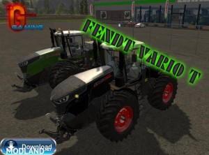 FENDT VARIO T FL PACK BLACK / GREEN v 4.0