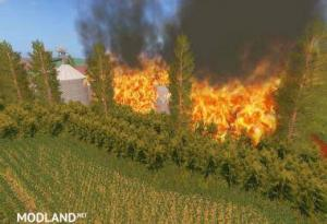 fire mod for fs17, 2 photo