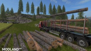 Fliegl Timber Runner with Auto Load Wood Script v 1.1.0.17, 1 photo