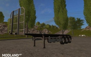 Fliegl Universal Semitrailer UAL v 1.1, 3 photo