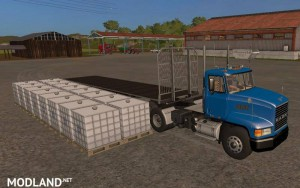 Fliegl Universal Semitrailer UAL v 1.1, 1 photo