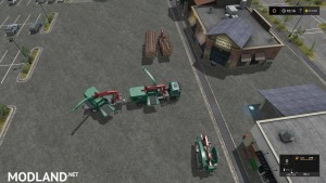 Forest extension for the MAN TGS 6x / 8x / 10x AR-Pack v 2.0, 3 photo