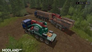 Forest extension for the MAN TGS 6x / 8x / 10x AR-Pack v 2.0, 4 photo