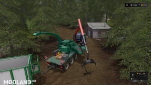 Forest extension for the MAN TGS 6x / 8x / 10x AR-Pack v 2.0, 5 photo
