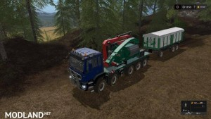 Forest extension for the MAN TGS 6x / 8x / 10x AR-Pack v 2.0, 6 photo