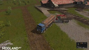 Forest extension for the MAN TGS 6x / 8x / 10x AR-Pack v 2.0, 7 photo