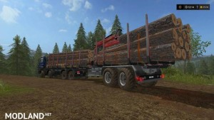 Forest extension for the MAN TGS 6x / 8x / 10x AR-Pack v 2.0, 9 photo
