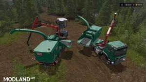 Forest extension for the MAN TGS 6x / 8x / 10x AR-Pack v 2.0, 1 photo