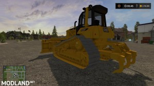 FS17 Cat d6n lgp v 1.0, 2 photo