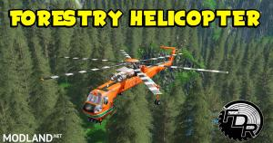 FDR Logging - Forestry Helicopter, 1 photo