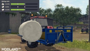 Goweil RBA - Round Bale mixer v 1.0, 3 photo
