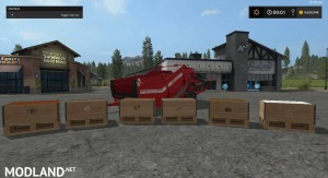 Grimme RH2460 With Added Fruits And Pallets v 1.0, 1 photo