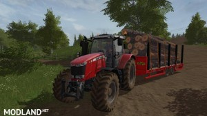Herbst 24FT Flat Bed Trailer v 1.0, 5 photo