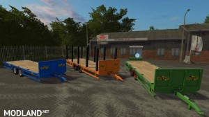 Herbst 24FT Flat Bed Trailer v 1.0, 6 photo