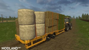 Herbst 24FT Flat Bed Trailer v 1.0, 1 photo