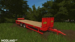 Herbst 24FT Flat Bed Trailer v 1.0, 2 photo