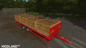Herbst 24FT Flat Bed Trailer v 1.0, 3 photo