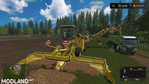 Holmer und Ropa DLC Maschinen Kartoffel ready v 1.1