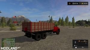 International Loadstar Grain Truck v 1.2, 5 photo
