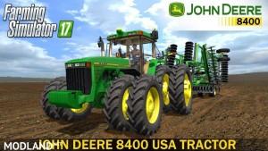 John Deere 8400 US v 1.0.2, 1 photo