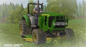 John Deere deck mower & front loader v 1.0, 1 photo