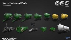 Kotte Universal Pack v 1.2