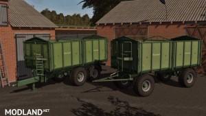Krone Emsland DK280R and TDK300 Pack v 1.0