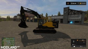 KST VOLVO EC300 WITH WORKING THUMB UPDATED CONTROLS v 3.2, 2 photo