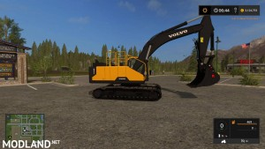KST VOLVO EC300 WITH WORKING THUMB UPDATED CONTROLS v 3.2, 5 photo