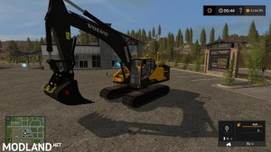 KST VOLVO EC300 WITH WORKING THUMB UPDATED CONTROLS v 3.2 - Direct Download image
