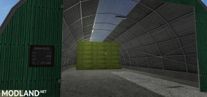 Large Square Bale Storage v 1.0, 2 photo
