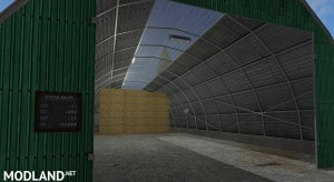 Large Square Bale Storage v 1.0, 3 photo
