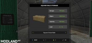Large Square Bale Storage v 1.0, 5 photo