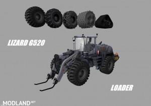 Lizard G520 Loader Grader Pack v 1.0, 2 photo