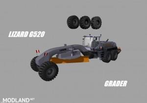 Lizard G520 Loader Grader Pack v 1.0, 3 photo