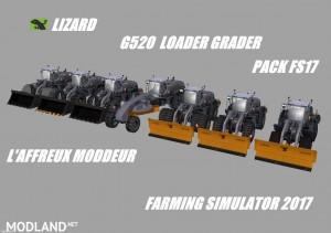 Lizard G520 Loader Grader Pack v 1.0, 1 photo