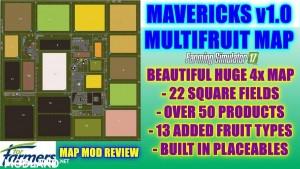 Mavericks Multifruit Map v 1.0.5