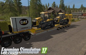 MB Actros SZM Cat + Doll Tieflader Cat v 1.0, 2 photo