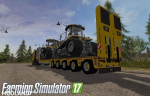 MB Actros SZM Cat + Doll Tieflader Cat v 1.0, 3 photo