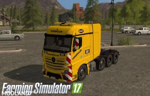 MB Actros SZM Cat + Doll Tieflader Cat v 1.0, 4 photo