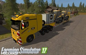MB Actros SZM Cat + Doll Tieflader Cat v 1.0, 1 photo