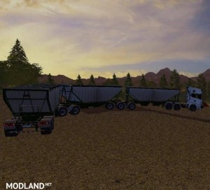 MBJ Semi trailer v 1.0, 1 photo