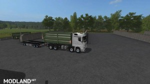 Mercedes Actros MP4 IT Runner 8x8 v 1.3.0, 3 photo