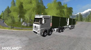 Mercedes Actros MP4 IT Runner 8x8 v 1.3.0, 7 photo