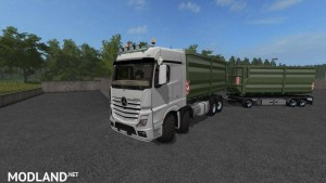 Mercedes Actros MP4 IT Runner 8x8 v 1.3.0, 1 photo
