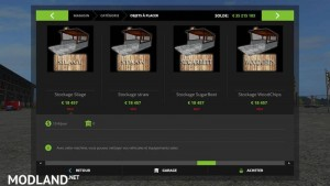 Modules Stockage Placeable FS 17 v 1.2, 11 photo