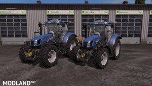 New Holland T6 Tier4a v 1.2