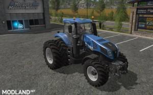 New Holland T8 Dual Wheels v 1.1