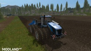 New holland T9 with drilling tires v 1.1.0, 1 photo