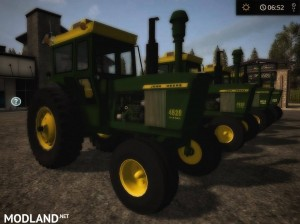 OLD IRON JD 20 series 2wd TRACTOR v 1.0, 6 photo